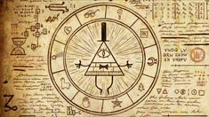 gravityfalls+book+2 | Bill Cipher - Gravity Falls Wiki