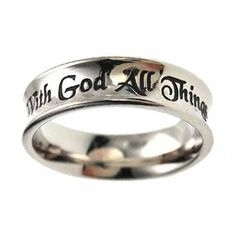 Christian Possible Ring by Spirit & Truth,