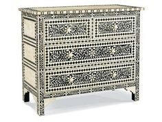 Shop for Lillian August Bone Chest, 1237032, and other Bedroom Commode Cabinets at Greenbaum Interiors in Paterson NJ, Morristown NJ. Lay away items in the stylish build of this handsome chest.  Since it so easily combines great looks with dependable utility, this chest is a must-have solution.