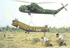Sikorsky CH-37 Mojave in Vietnam