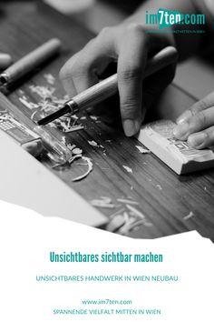 """Lokal, nachhaltig, einzigartig – die Vorzüge von Handwerksbetrieben sprechen für sich selbst. """"Think global, act local"""" ist ein immer wichtiger werdendes Motto, das es bewusst in unseren Alltag einzubauen gilt. Der Faltplan """"Unsichtbares Handwerk in Wien"""" gibt Aufschluss über die Hot Spots des Handwerks in der Westbahnstraße und Umgebung. * * * #im7ten #neubau #handwerk #handwerksbetriebe #wien #shop #gemeinsamim7ten #neubaubringts #westbahnstrasse Lokal, Think, Motto, Rings For Men, Craft Business, New Construction, Environment, Unique, Men Rings"""