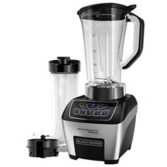 Soups, smoothies, and iced drinks have never been easier thanks to the BLACK+DECKER Performance FusionBlade Digital Blending System. A powerful 1100-watt motor works with the all-in-one 64-oz. blending jar and blade design to produce a vortex that blends food in no time. Plus, you also get a... - http://kitchen-dining.bestselleroutlet.net/product-review-for-blackdecker-bl6010-performance-fusionblade-digital-control-blender-with-64-ounce-bpa-free-jar-and-20-ounce-portable-per