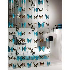 Sealskin Butterfly zasłona prysznicowa PCV 180 cm transparentna 210571302