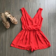 """Snag this red romper for the weekend!  For pricing and size availability, please call us at 786-740-1407 or email us at r2cboutique@gmail.com  #LooksWeLove #OutfitsWeLove  #SummerStyle #Boutique #Fashion #Summer #Style  #Weekend #OOTD #OOTN #Miami #swim #onlineboutique #CoralGables #Pinecrest #SouthMiami #SouthBeach #Wynwood #PembrokePines #Midtown #Kendall #MiamiLakes #Downtown #tagforlikes #tagyourbestie #tagyourfriends"" Photo taken by @racktocloset on Instagram"