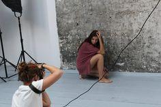 """Workshop about """"Portrait"""" organized by Krakowskie Szkoły Artystyczne for """"Let me Italian You"""". :) #photography #KSAkraków"""