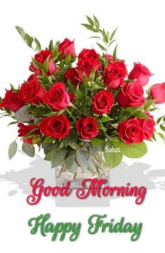 Happy Morning Images, Good Morning Happy Friday, Morning Quotes, Friendship Quotes, Floral Wreath, Ali, Flowers, Roses, Night