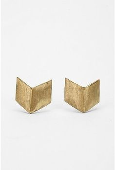 UrbanOutfitters.com > Geometric Post Earring - StyleSays