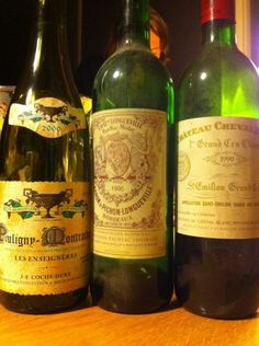 What a great memory these wines were especially the Cheval Blanc 1990
