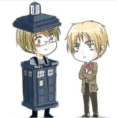 :D *Ultimate Happiness* (America-The Tardis , Iggy-The Doctor