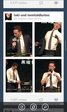 Poor Tom!