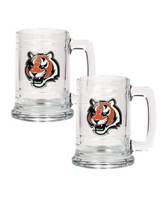 Take a look at this Cincinnati Bengals Tankard - Set of Two on zulily today!