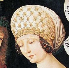 detail from lovers from Gotha, Housebook Master possibly, c. 1480, Germany