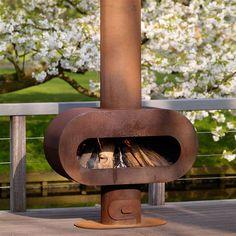 Zeno Barro Outdoor Fireplace   Internet Gardener