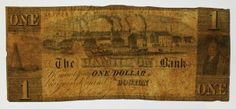 Counterfeit Bill Described by Elizabeth Pope as part of American Antiquarian Society Fraud Week History Of Capitalism, Bamboo Cutting Board, American