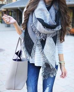 Love big scarves to keep you wrapped up warm in the Winter ❤️