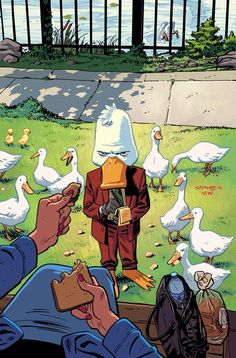 Howard the Duck #2 Variant - Chris Samnee & Matt Wilson