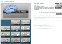 PresenterMedia Mind Maps Tool Kit