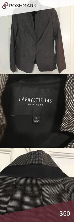 Lafayette 148 Blazer Such a high end great quality Blazer. Only wore it once for a Lafayette Fashion Show. Looks brand new. Lafayette 148 New York Jackets & Coats Blazers
