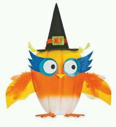 How cute an owl pumpkin Halloween Items, Halloween Stickers, Holidays Halloween, Halloween Pumpkins, Halloween Crafts, Holiday Crafts, Halloween Decorations, Halloween Designs, Holiday Ideas