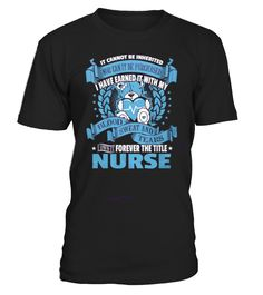 Nurse - Forever The Title!  Funny forever T-shirt, Best forever T-shirt