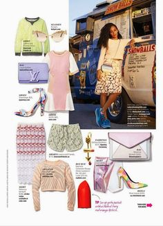 Solange Knowles - Cosmopolitan Magazine US March 2014