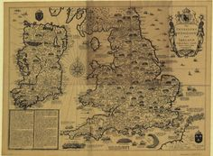 The invasions of England and Ireland - showing the major battles fought in England, Wales and Ireland from Hastings in 1066 until 1588, concluding with the Spanish Armada which is shown in its various stages starting in the English Channel and finishing as wrecks to the north of Ireland