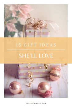 Looking for the perfect present to give the woman who has it all? This list will help! With 15 AMAZING gifts, it has something for everyone. For her birthday, Christmas or just because.