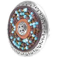 "Anillo ""Manitoba Multirows Ring"" de Nature Bijoux colección Manitoba"