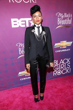 Where: At Black Girls Rock! 2012 in New York City