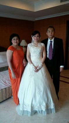 With mom and dad