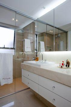 Banheiro preparado para o Inverno