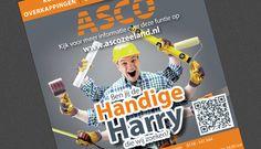 Personeels advertentie ASCO Zeeland
