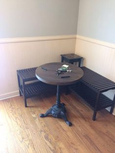 How to Create a BREAKFAST NOOK Using IKEA Benches.