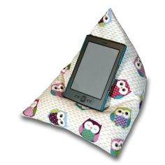 Princess fabric  iPad tablet cushion Bean bag stand  for tablets kindle ipad