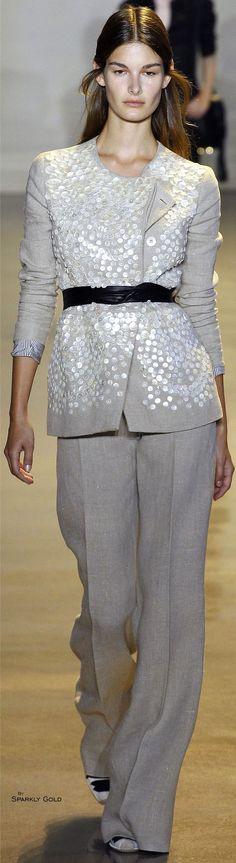 Altuzarra Spring 2016 RTW: #fashion #trends #luxury #designers #runway #fashionweek #style #textiles #textures #design #details
