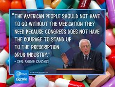 Amen. America has some of the highest prescription drug prices in the world.  #Bernie2016 #feelthebern
