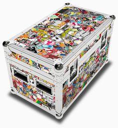 Stickerbomb Trunk Case Dorm Secret