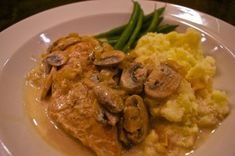 Bistro Chicken with Creamy Mushroom Sauce: Classic French cooking at home