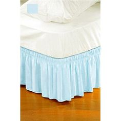 Found it at Wayfair - Solid Ruffle Bed Skirt