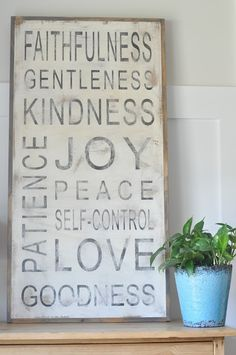 Best fruit of the spirit craft wood signs etsy ideas Fruit Of The Spirit, Wine Racks, Peace Crafts, Family Rules Sign, Decoupage, Spirit Signs, Spirit Quotes, Fruit Shop, Fruit Decorations