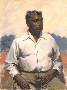 William Dargie's Archibald Prize portrait: Queensland Art Gallery