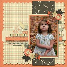 Lends itself to vintage scrapbook layout