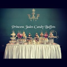 Table Styled By Princess Jades Candy Buffets