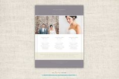 Wedding Photographer Pricing Guide by theFlyingMuse on Creative Market
