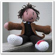 Pixelated Mushroom: Free crochet pattern: David Tennant Big and Cuddly