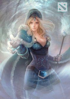 Rylai the Crystal Maiden DotA 2