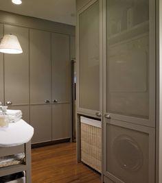Frentes en rejilla para una buena ventilación (de DEULONDER arquitectura domestica)