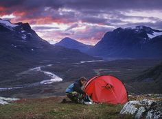 Camping in the Wilderness - Sweden