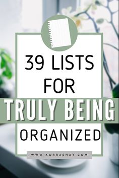 Writing Lists, Journal Writing Prompts, Start Writing, How To Be More Organized, Getting Organized, Home Organization Hacks, Planner Organization, Case Management Social Work, Management Tips
