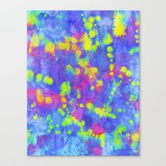 Energy Stretched Canvas by Erin Jordan - $85.00